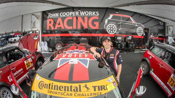 MINI JCW Team Celebrates One-Year Anniversary and New Partnership with VOIEF