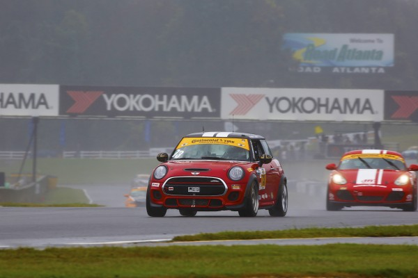 Second Place Finish for MINI JCW Team in Series Finale at Road Atlanta