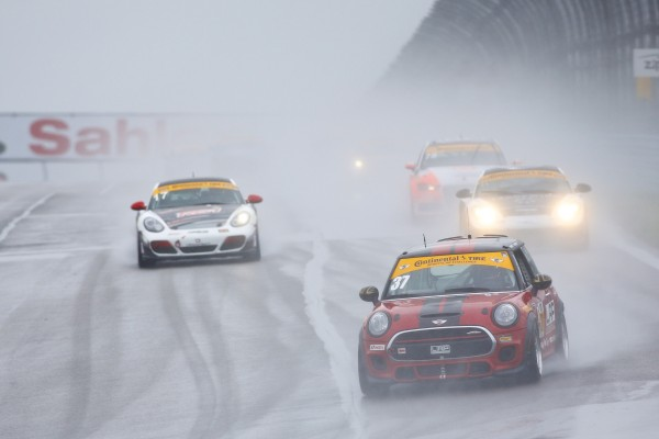 Mother Nature Rains on MINI JCW Racing Team's Watkins Glen Parade