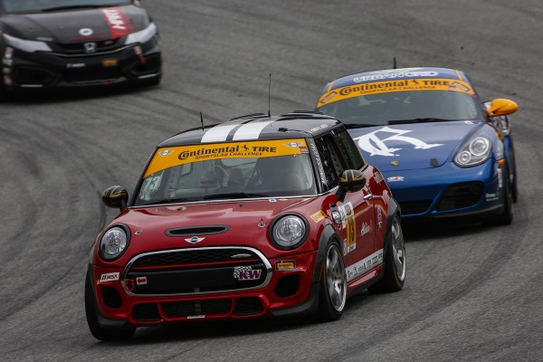 MINI USA celebrates first complete season in IMSA Continental Tire SportsCar Challenge Series